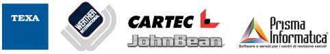 loghi TEXA Werther Cartec Prisma Informatica